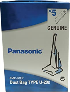 Panasonic Original Genuine Hoover Vacuum Cleaner Bags AMC-B1EP U-20E U-2E 5 Pack