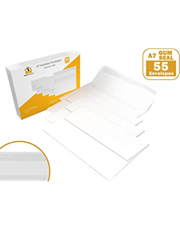 55 5x7 White Invitation Envelopes - A7 - for 5x7 Cards (5 ¼ x 7