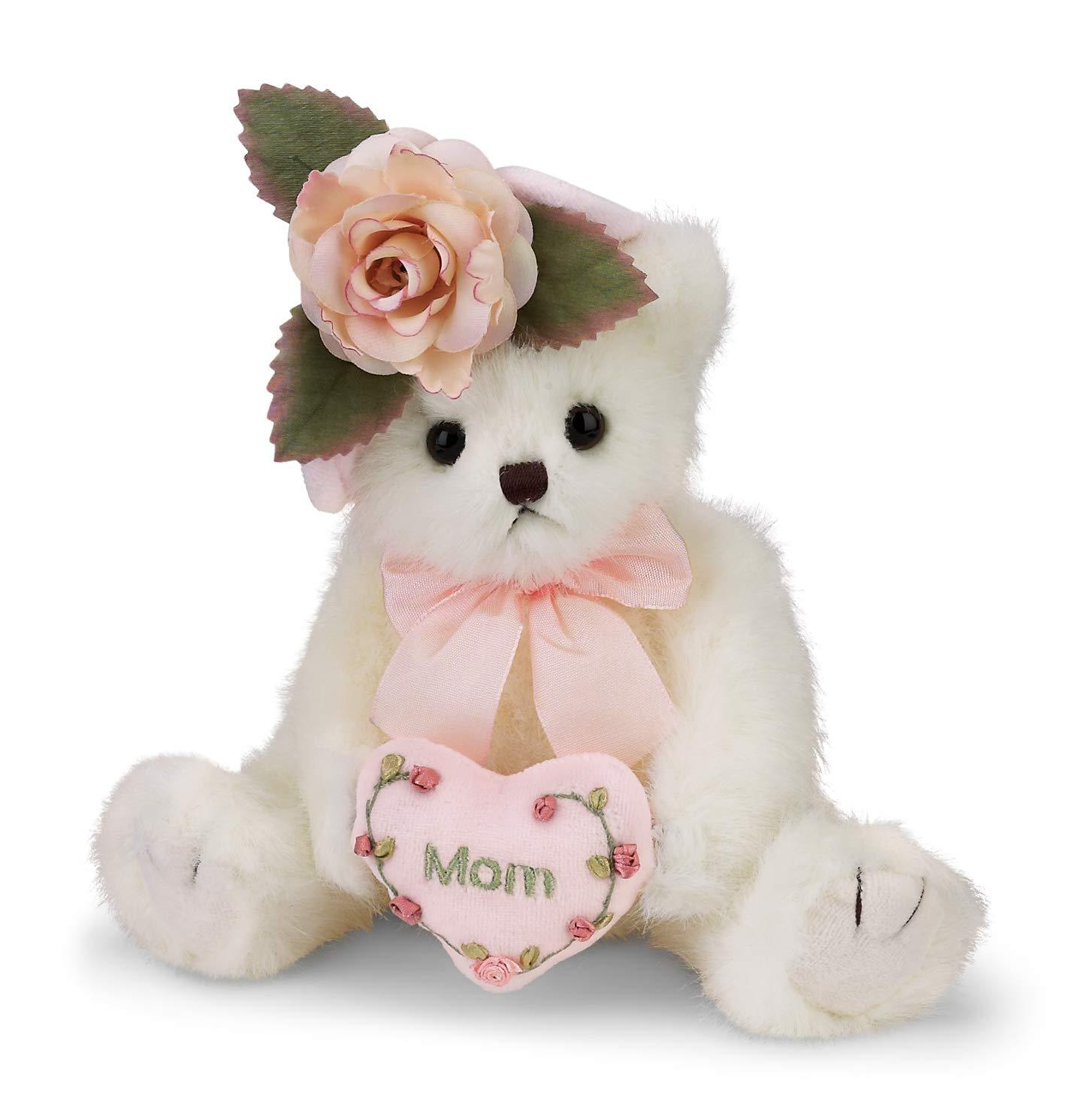 45b0315f720 Amazon.com  Bearington Mommy Tenderheart Teddy Bear for Mom Mother s on  Their Day 10