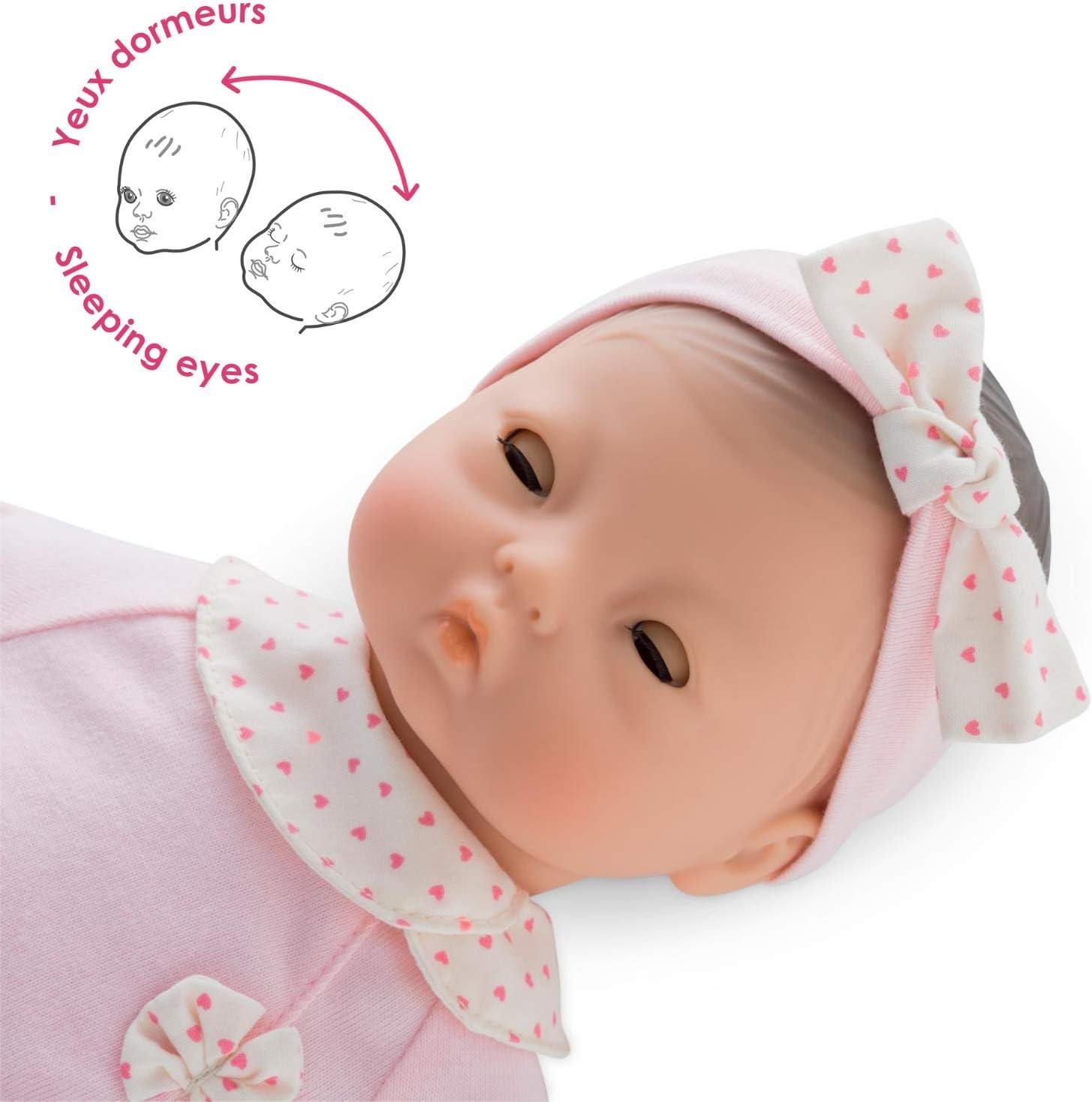 Corolle Mon Premier Poupon Bebe Calin Mila Toy Baby Doll Pink