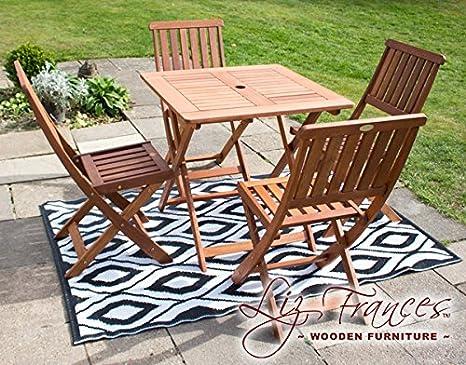 Liz Frances Ashford madera de 4 plazas juego de muebles de ...