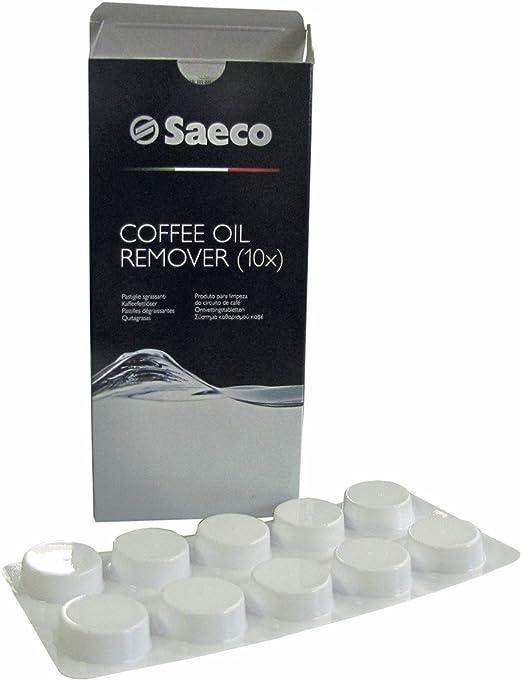 Saeco 141650100 Original Limpiador pastillas Tabs desengrasador ...