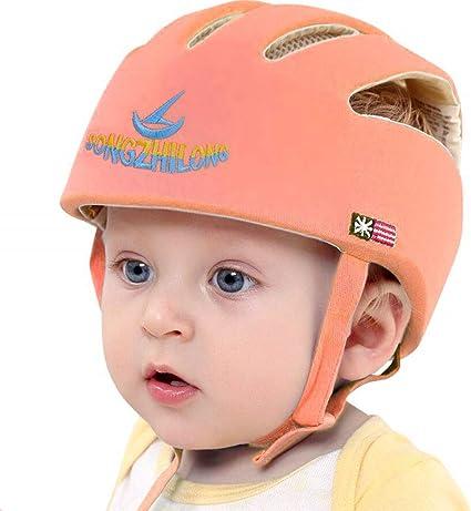 Casque de Sécurité Bébé Casque de Protection Confortable pour Marche