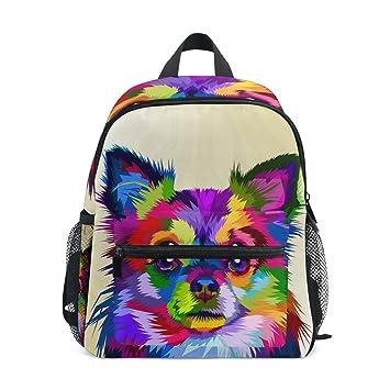 Amazon.com: Mochilas con patrón de perro para niñas y niños ...