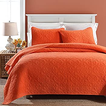 grey style more and queen ease quilt bedding pillowcases orange sets with set