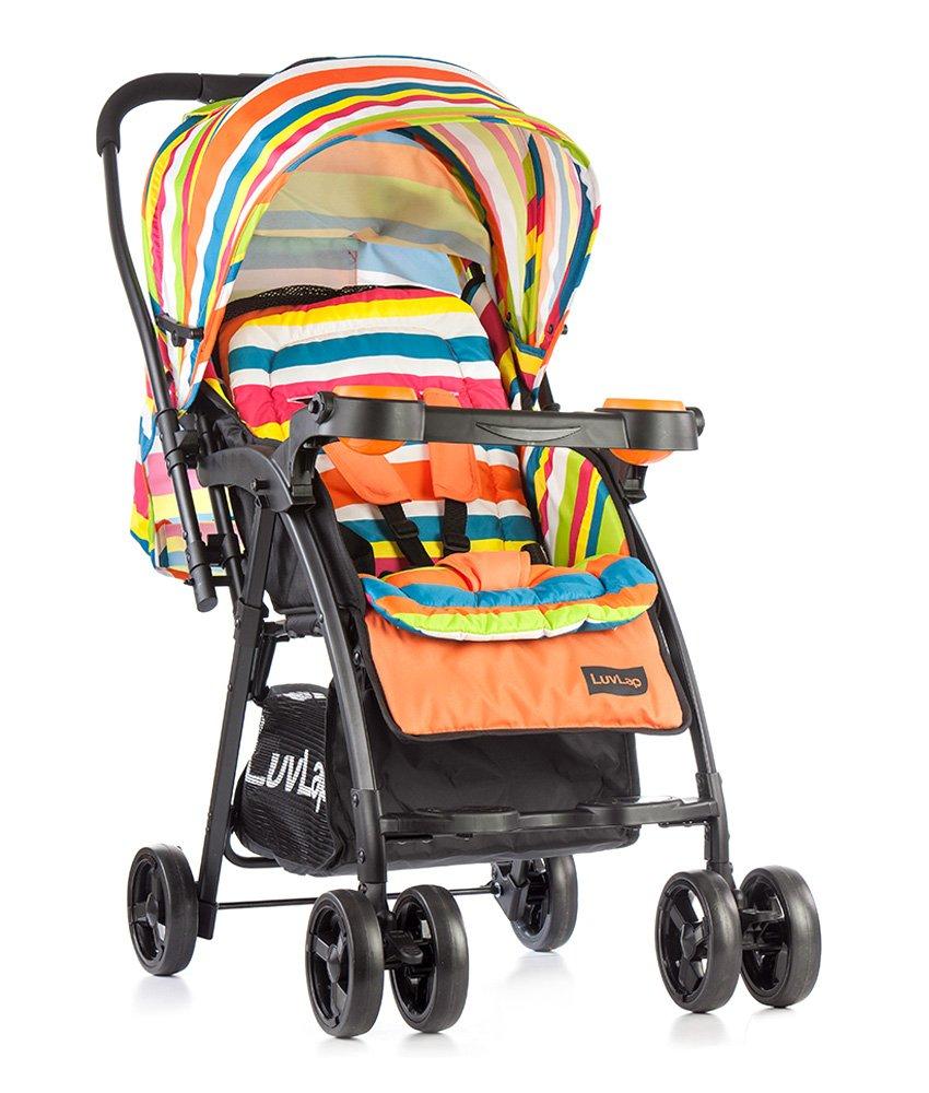 Luvlap Joy Stroller/Pram, Compact And Easy Fold, For Newborn