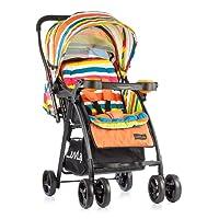 Luvlap Joy Baby Stroller (Orange)