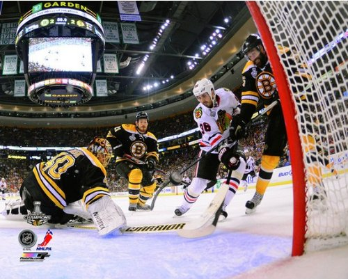 NHL Dave Bolland Chicago Blackhawks 2013 Stanley Cup Game 6 Winning Goal Photo 8x10
