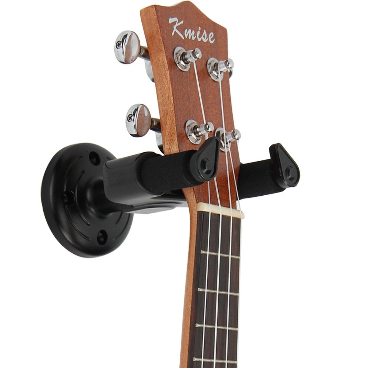 Kmise guitarra gancho perchero de pared montaje en pared ...