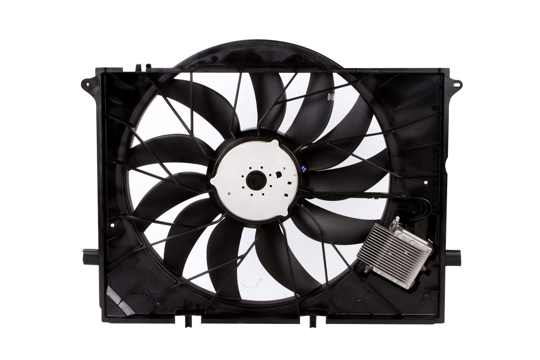 MYSMOT Engine Cooling Fan Assembly For Mercedes Benz W220 CL55 CL600 CL65 S600 SL63 SL600 S55 SL55 SL63 SL65 AMG SL55 AMG 2205000293,2205000193,