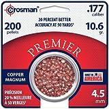 Crosman Magnum Premier Domed Pellets 200 Count