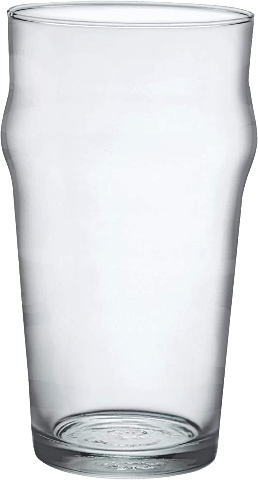 Set of 12 Bormioli Rocco Nonix Pub Glass