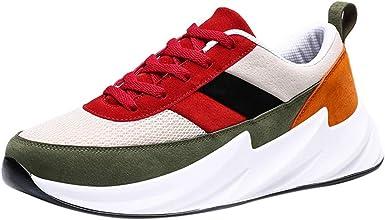 Darringls Zapatillas de Deporte para Hombre, Hombre Mujer Zapatillas Deporte Transpirable Antideslizante Zapatos Running Deportivas para Fitness Sneakers Athletic Al Aire Libre 39-46: Amazon.es: Ropa y accesorios