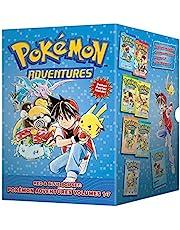 Pokémon Adventures Red & Blue Box Set (Set Includes Vols. 1-7): Set includes Vol. 1-7