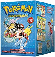 Pokémon Adventures Red & Blue Box Set: Set includes Vol.