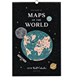 Rifle Paper 2018 Maps of the World Calendar