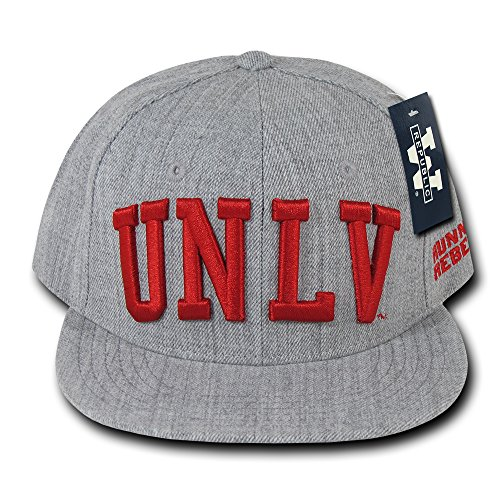 The Freshman College Snapbacks Game Day Cap (UNLV Las Vegas, Heather (Unlv Hats For Men)