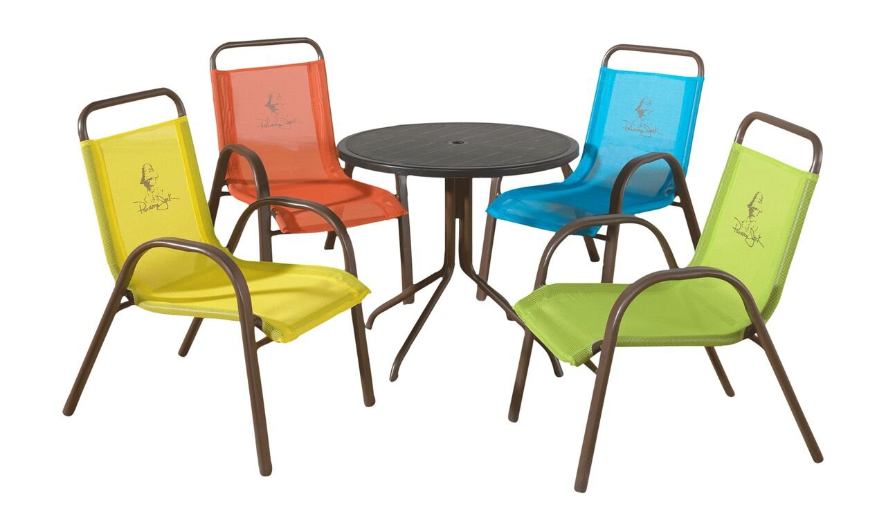 Panama Jack Kids 5-Piece Outdoor Dining Set, Multicolored by Panama Jack Kids (Image #1)