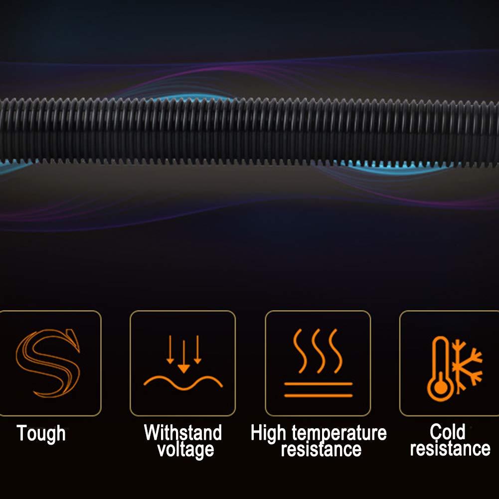 1.5m Bggie Tuyau d/'Extension Flexible pour aspirateur Haute Performance Durable