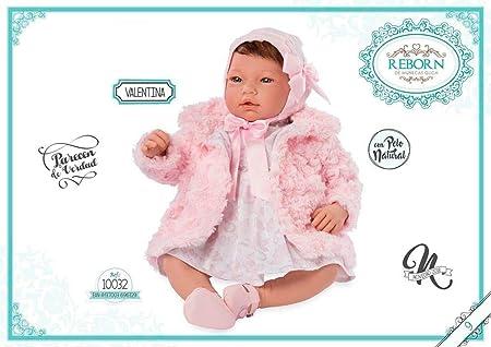 Amazon.es: Muñecas Guca- Reborn Valentina Vestido Estampado Flores ...
