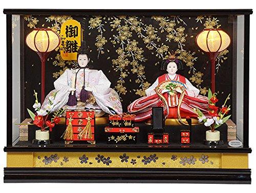 雛人形 ケース入り親王飾り  No.306-49   B01AW518I0