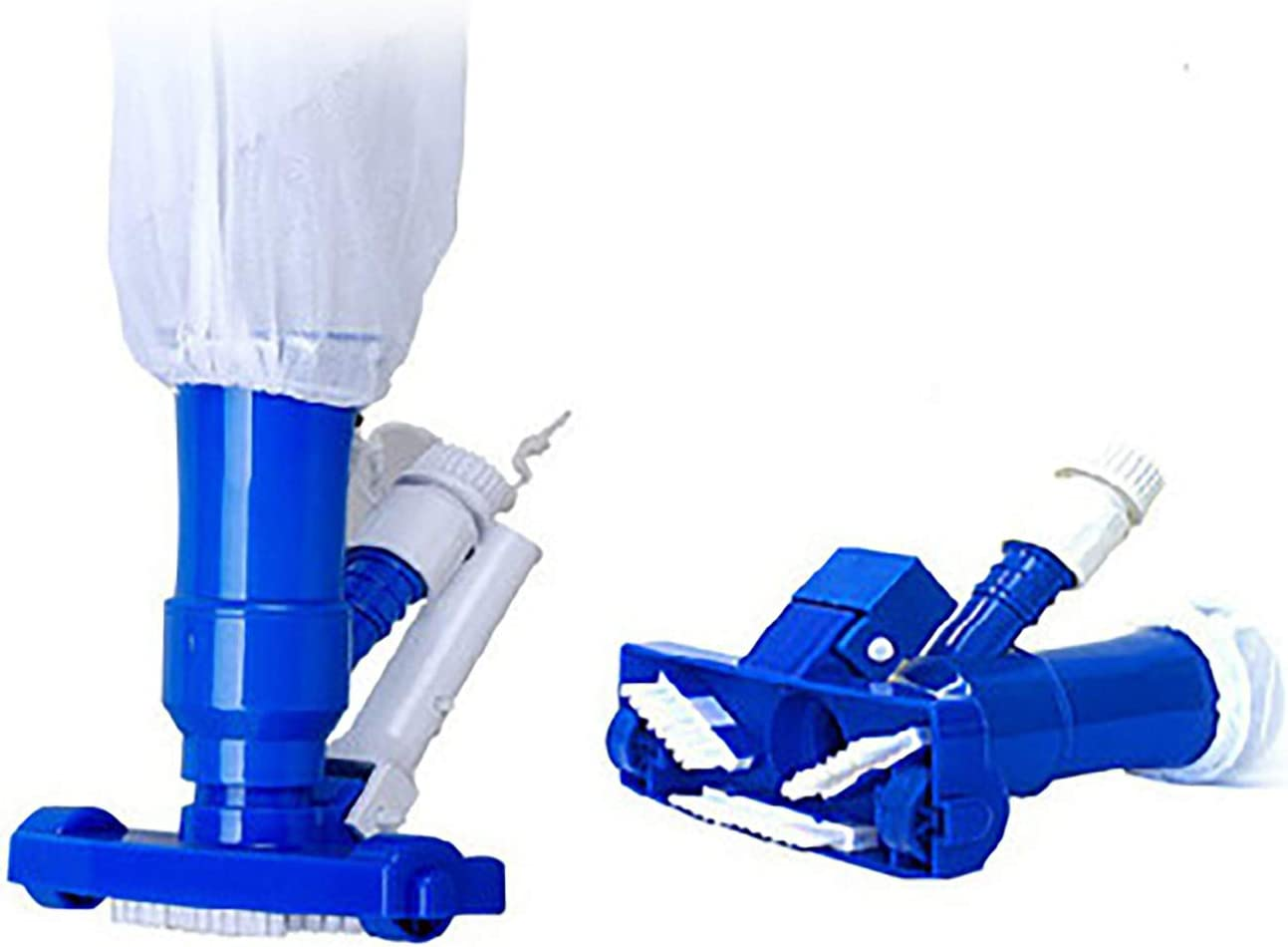 PoolSupplyTown Mini Jet Vac Vacuum Cleaner w/ Brush, Bag (No Pole Included) For Pool, Spa, Jacuzzi, Fountain, and Hot Tub