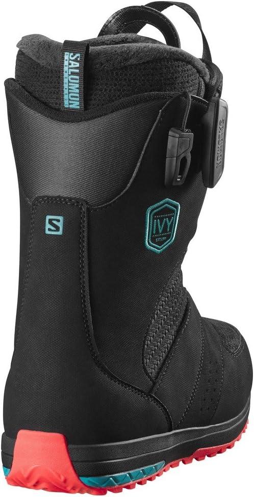 SALOMON Snowboard – Ivy Boa Str8Jkt 1617, Farbe Black bMLly