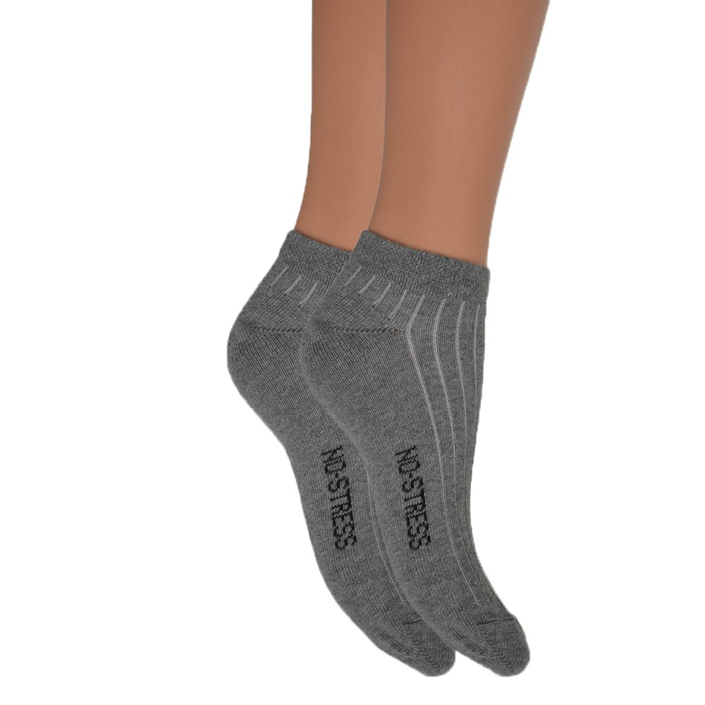 Fontana Calze, 6 paia di calze DONNA sport, fitness, mod. CAVIGLIA con punta e tallone rinforzati. 70060064