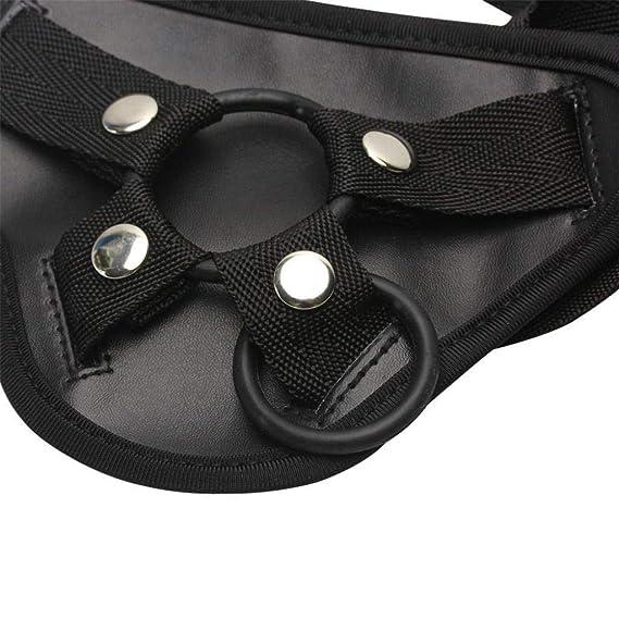 Productos de Adultos by BaZhaHei, Calzoncillos Ajustables Suaves con cinturón para Mujeres y Hombres y Parejas del Cinturón de Desgaste erótico de Productos ...