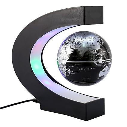 globo c levitazione magnetica  Globo Fluttuante con LED Levitazione Magnetica C Forma di sfera ...