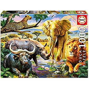Educa 16748 Puzzle 1000 The Big Five