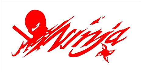 Amazon.com: Cutting sticker Ninja Incognito Shinobi The left ...