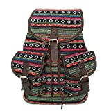 Exquisitto Tribal Jacquard Daypack Colorful Stripes