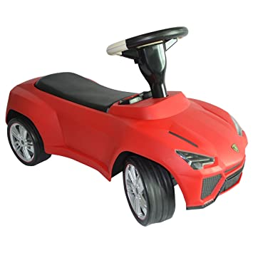 new licensed lamborghini urus kids ride on push car toddler baby walker toy red