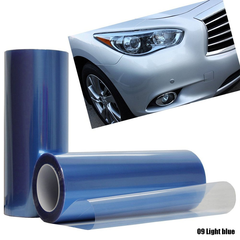 Calistouk Vinilo adhesivo para faros delanteros de coche 30 x 100 cm