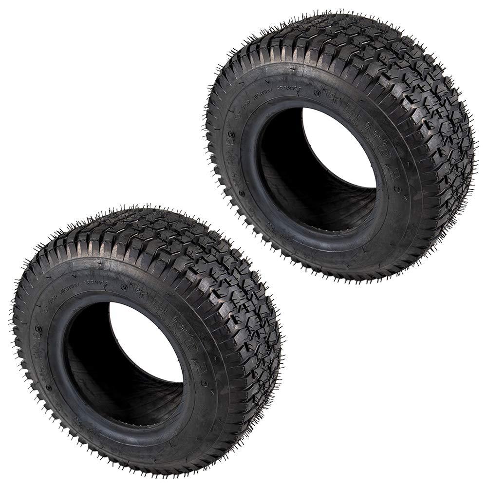 2 Neumáticos Kenda 13 x 5.00 - 6 Césped Rider Tread lote de ...