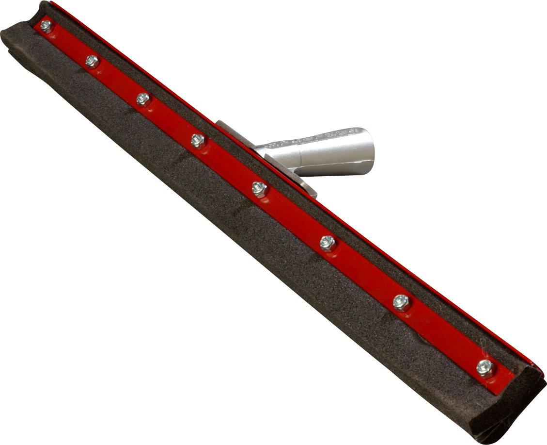 Carlisle 4008300 Double Neoprene Floor Squeegee with Steel Frame, 1' Height, 30' Width, 12' Length, Foam Rubber 1 Height 30 Width 12 Length