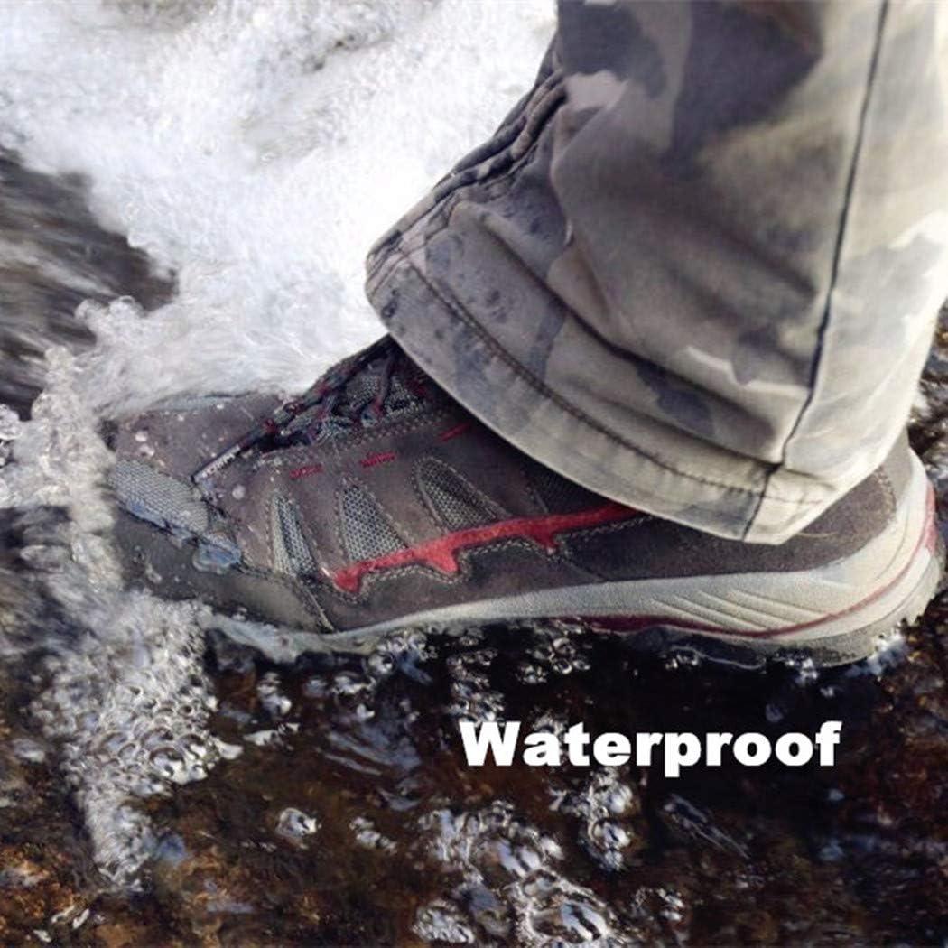 Clorts Men's Mid Hiking Boot Hiker Leather Waterproof Lightweight Outdoor Backpacking Trekking Shoe Grey Dark Red