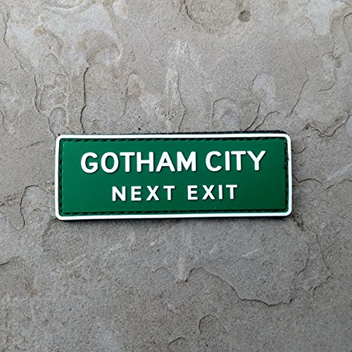 Gotham City Batman Arkham Joker PVC Rubber Tactical Morale Patch - Hook Backed by NEO Tactical (Dark Knight Patch)