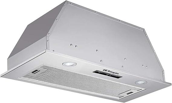 Orbegozo CA 08160 IN – Campana extractora cassete, 52 cm, extracción 606.4 m3/h, 3 niveles de potencia, fltro de aluminio desmontable, 190 W: Amazon.es: Hogar