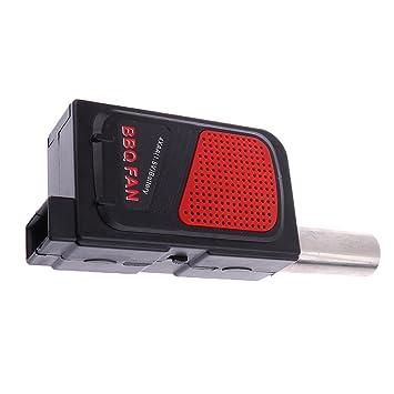 Portátil Pequeño Soplador De Aire Herramienta De Fuelle Fuego Ventilador De Barbacoa Eléctrica: Amazon.es: Hogar