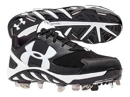 b5299d43e3a Amazon.com   Under Armour UA Spine Glyde 11 Black   Sports   Outdoors