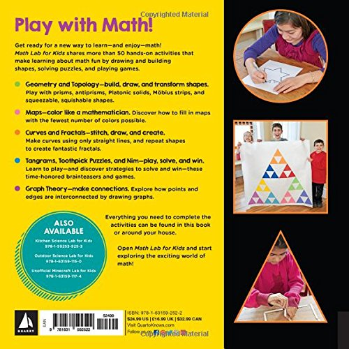 Math Lab for Kids: Fun, Hands-On Activities for Learning with ...