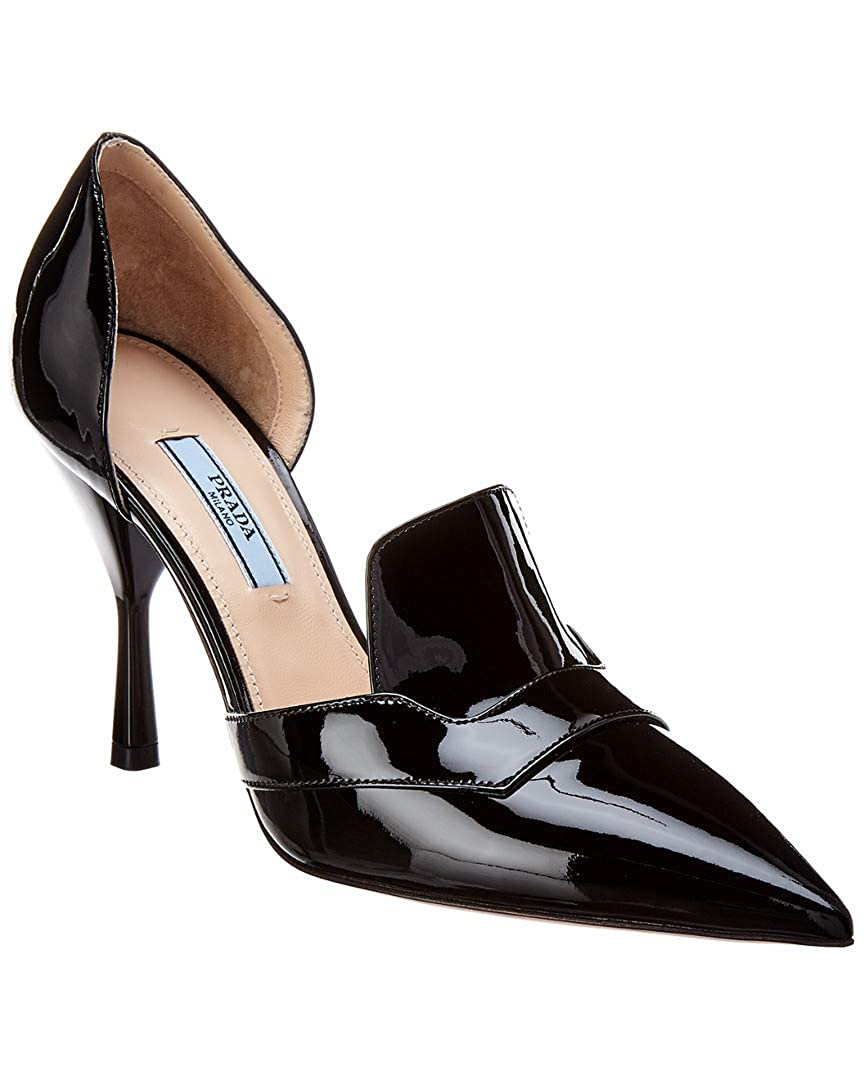 2c8c93b680 Amazon.com | Prada 65 Patent Pointy-Toe Pump, 38, Black | Pumps