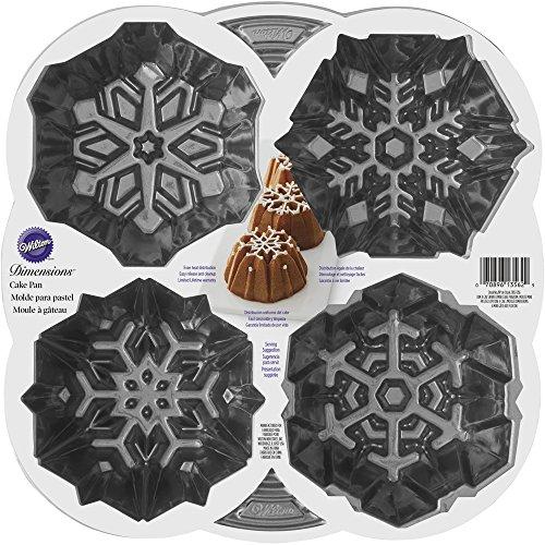 Mini Tube Fluted - Wilton Dimensions Snowflake Fluted Tube Pan