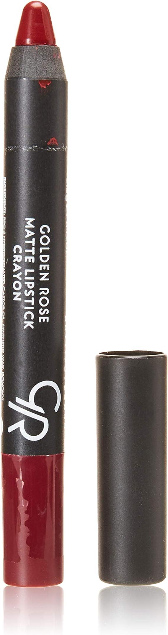 Golden Rose Matte Lipstick Crayon #05 Shiraz Red
