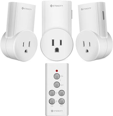 Amazon.com: Etekcity - Interruptor de luz inalámbrico con ...