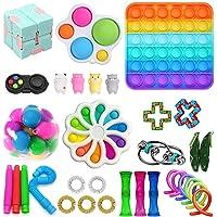 Dan&Dre Conjunto de brinquedos sensoriais, brinquedos de descompressão, brinquedos de apertar para crianças, adultos…