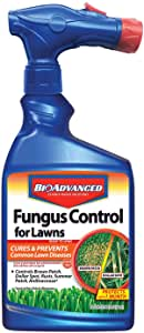 BioAdvanced 701270A Effective Fungicide with Disease Prevention Fungus Control for Lawns, 32-Ounce, Ready-to-Spray