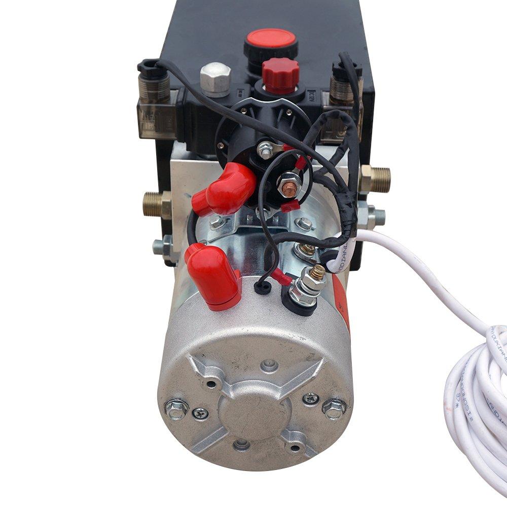 on western lift hydraulic power unit wiring diagram